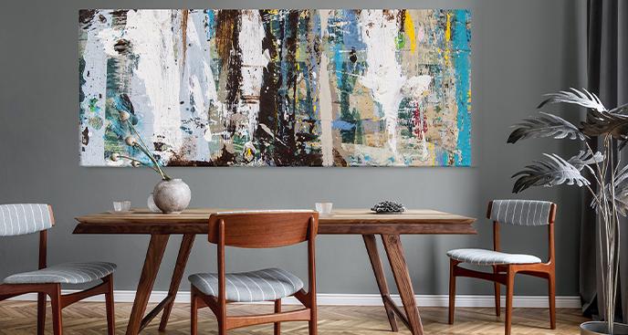 Abstraktes Bild fürs Wohnzimmer