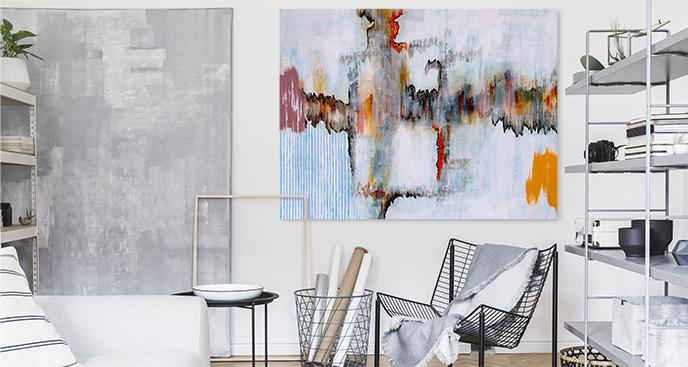 Abstraktes Bild im modernen Stil