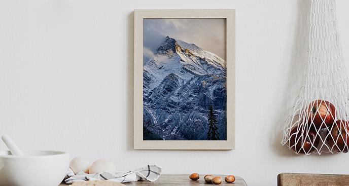 Bergposter in Kanada