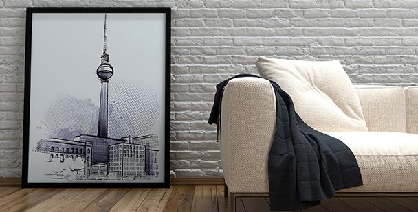 Berlin-Poster fürs Wohnzimmer