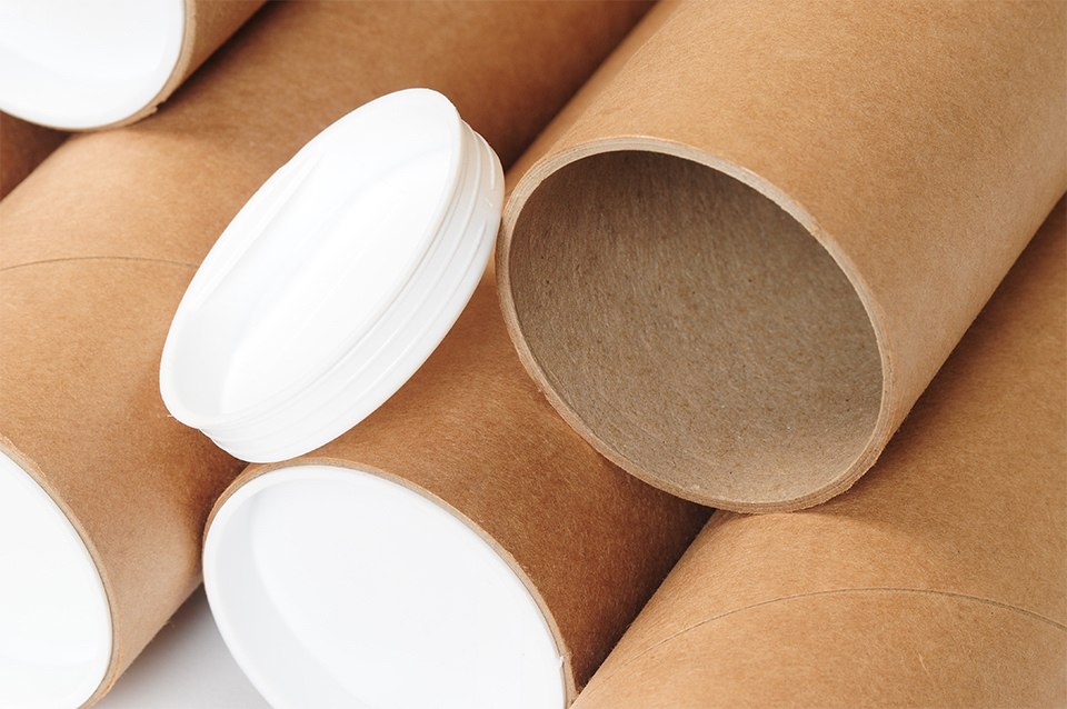 Papierröhren – in ihnen kommen die von Ihnen bestellten Produkte an