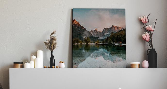 Bild Berge und See