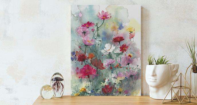 Bild Blumen auf der Wiese