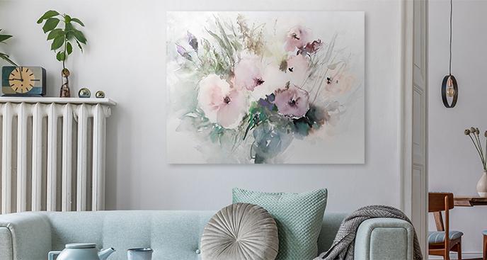 Bild Blumen in Aquarell