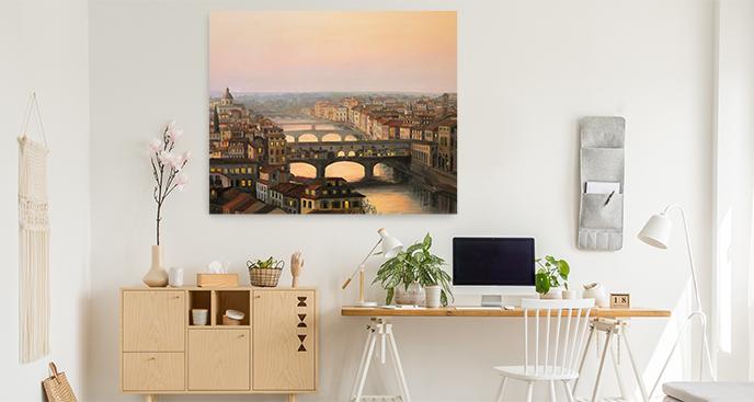 Bild Florenz aus der Vogelperspektive