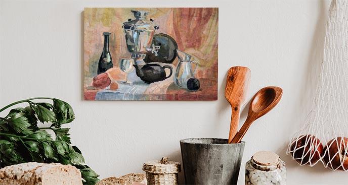 Bild für die Küche Stillleben