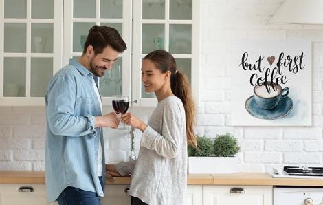 Bild für Küche mit Kaffee