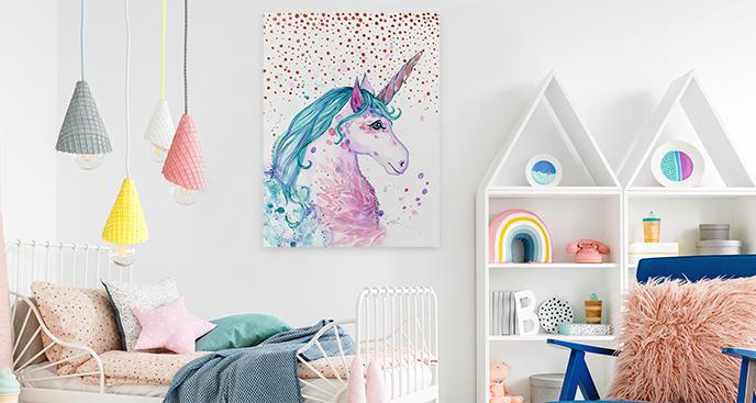 Bild fürs Zimmer eines Mädchens
