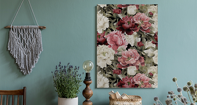 Bild im Floral-Stil