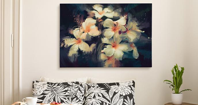 Bild im floralen Stil