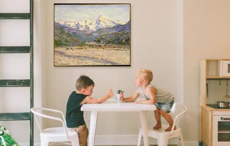 Bild Impressionismus und das Nervi-Tal