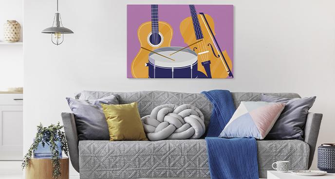 Bild Instrumente fürs Wohnzimmer