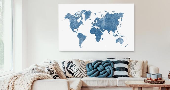 Bild Karte in Aquarell