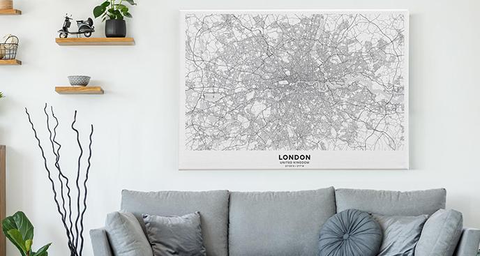 Bild Karte - London