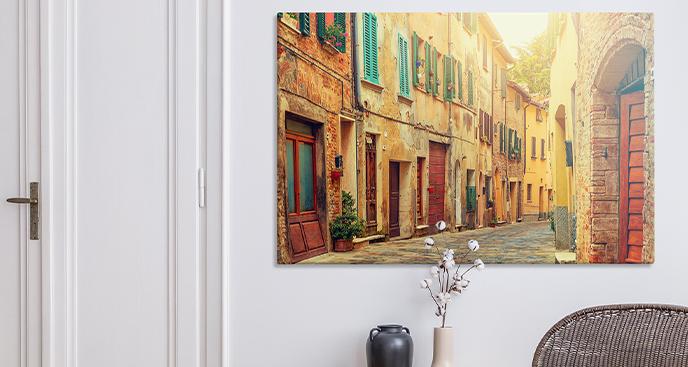Bild Kleinstadt in Italien