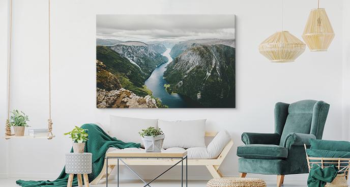 Bild Kontinente und Fjord