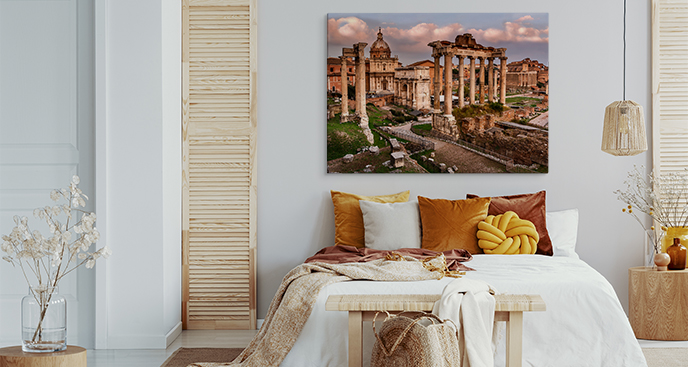Bild Kontinente und Rom