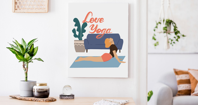 Bild Love Yoga