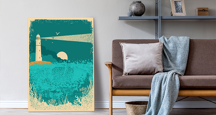 Bild mit Meeresmotiv