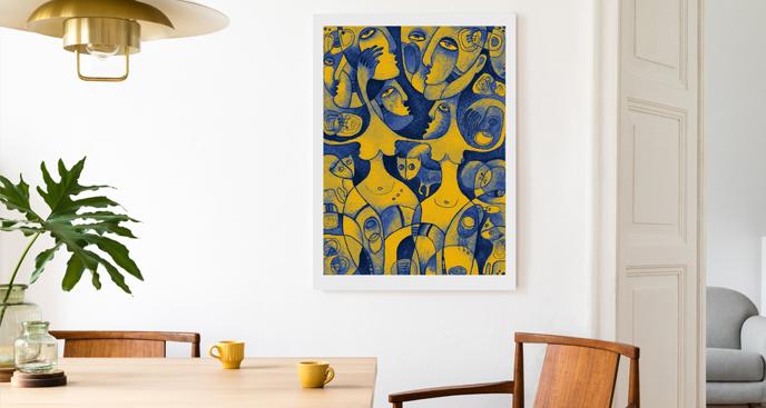 Bild moderne Malerei