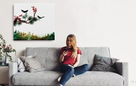 Bild Natur fürs Wohnzimmer