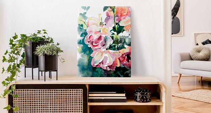 Bild Natur im Blumenstil