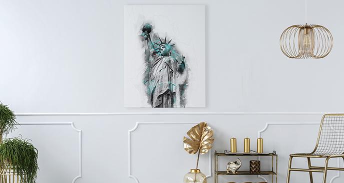 Bild New York City Freiheitsstatue