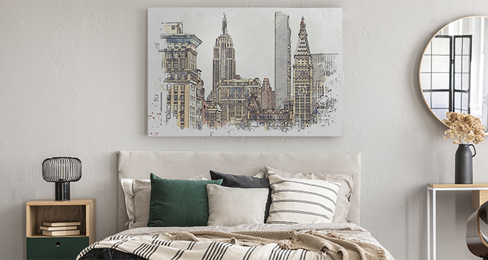 Bild New York fürs Schlafzimmer