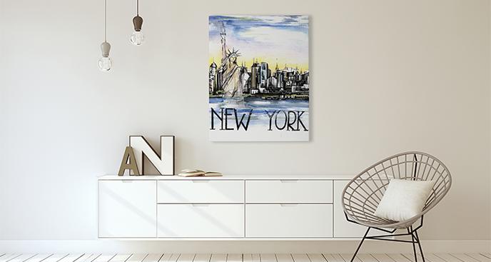 Bild New York fürs Wohnzimmer