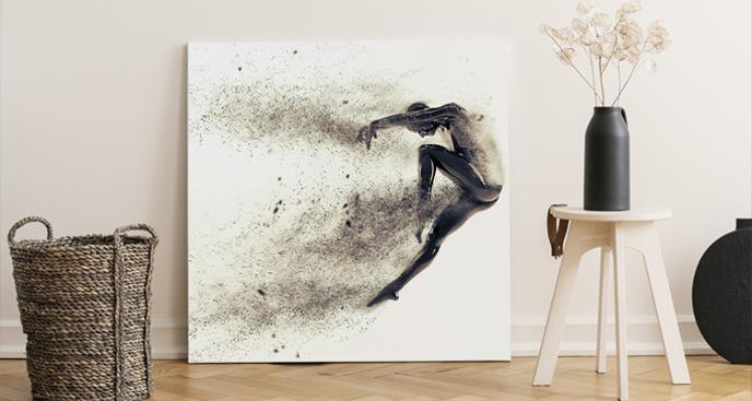 Bild Sport und Silhouette eines Tänzers