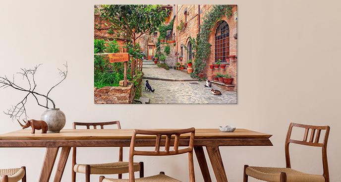 Bild Toskana für Esszimmer