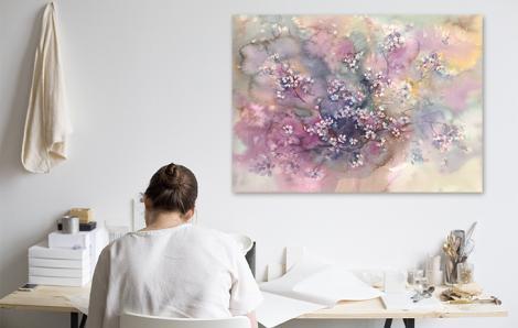 Bild von Kirschblüten