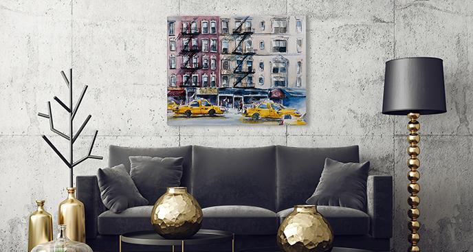 Bild von New York Taxis