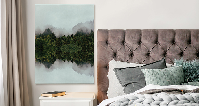 Bild Wald im Nebel