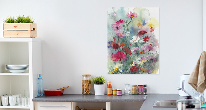 Bilder Pastellblumen