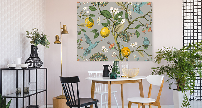 Botanisches Bild fürs Esszimmer