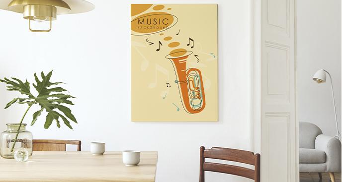 Buntes Bild Instrument