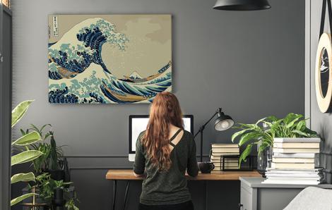 """Das Bild von Hokusai """"Die Große Welle"""""""