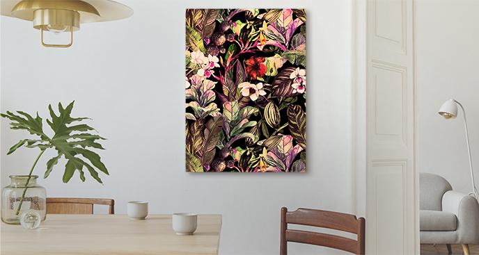 Exotisches Blumenbild