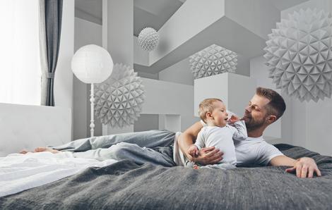 Fototapete 3D für Schlafzimmer