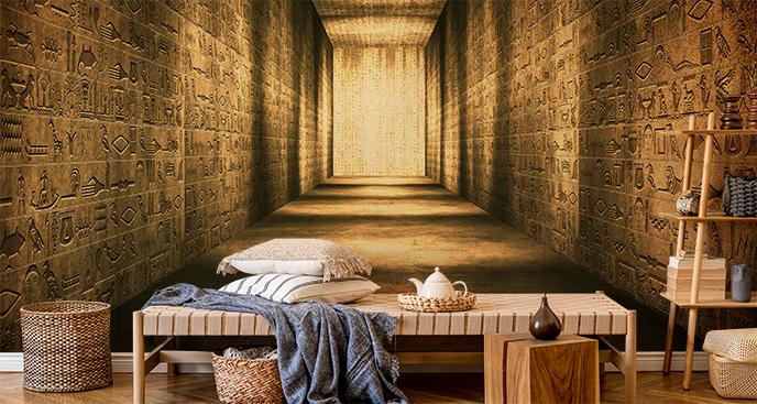 Fototapete ägyptische Hieroglyphen