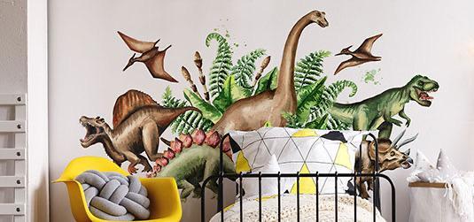 Wie kann man ein Kinderzimmer Dinosaurier schön einrichten? Tipps & Ideen