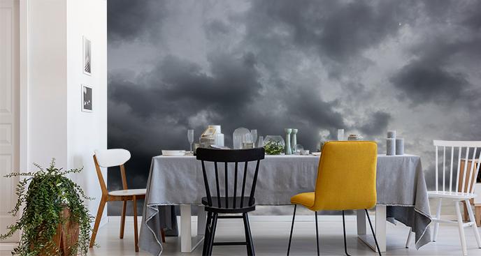 Fototapete dunkle Wolken