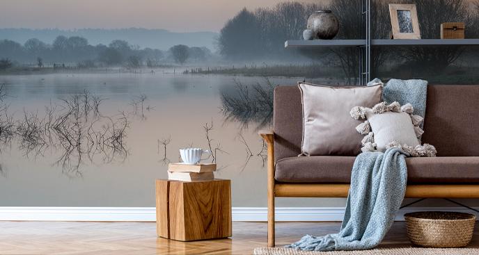 Fototapete für das Wohnzimmer - See