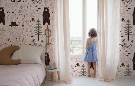 Fototapete für Mädchenzimmer Wald