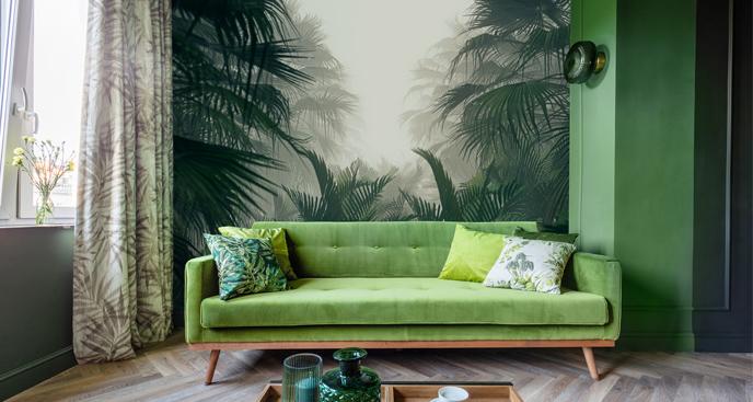 Fototapete fürs Wohnzimmer - Dschungel