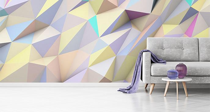 Fototapete geometrische Abstraktion 3D