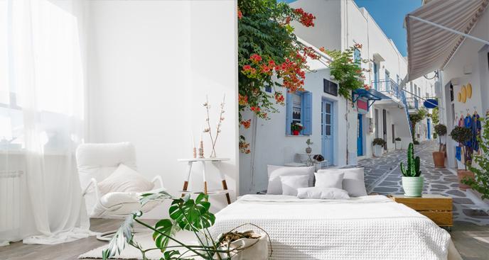 Fototapete griechische Insel