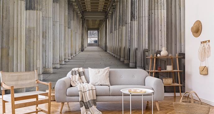 Fototapete griechische Säulen