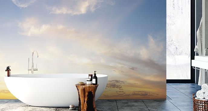 Fototapete Himmel fürs Badezimmer